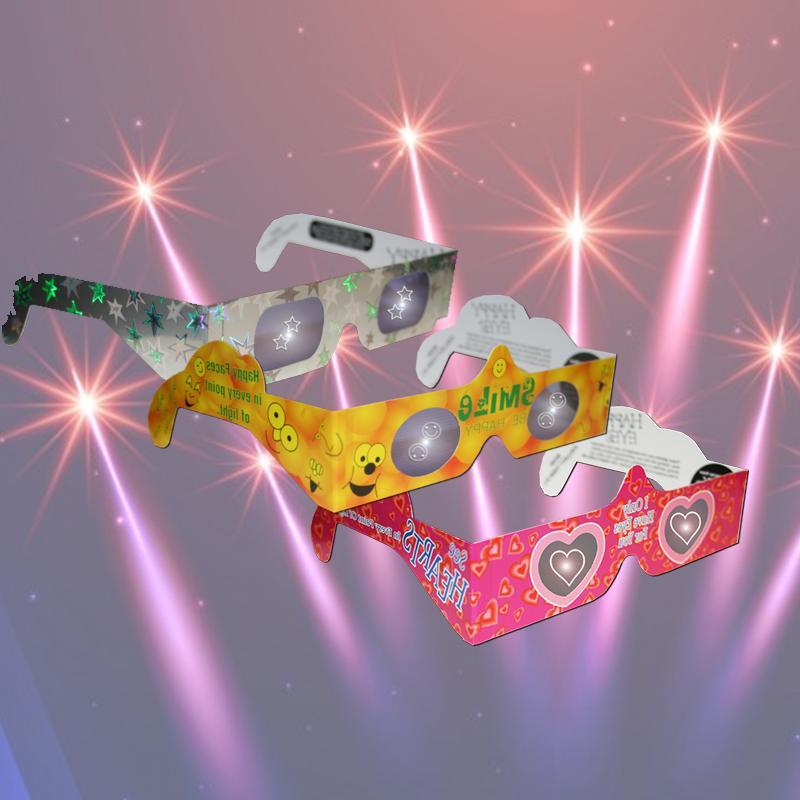 משקפי אפקטים מיוחדים למסיבה