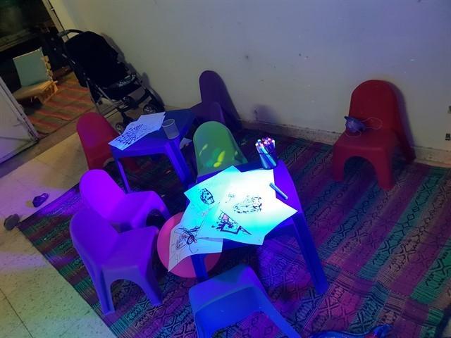 השכרת כסאות לילדים לצורך פינות יצירה