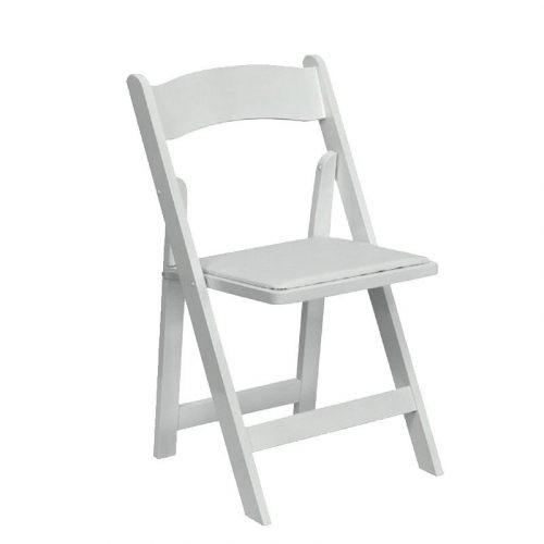 השכרת כיסא לבן מתקפל