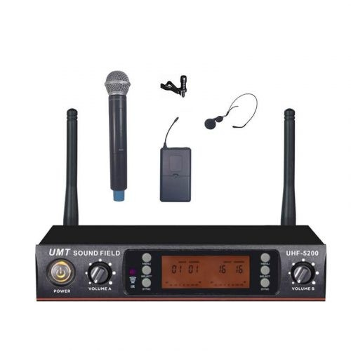 מיקרופון אלחוטי MICPRO -UHF 5100 PRO