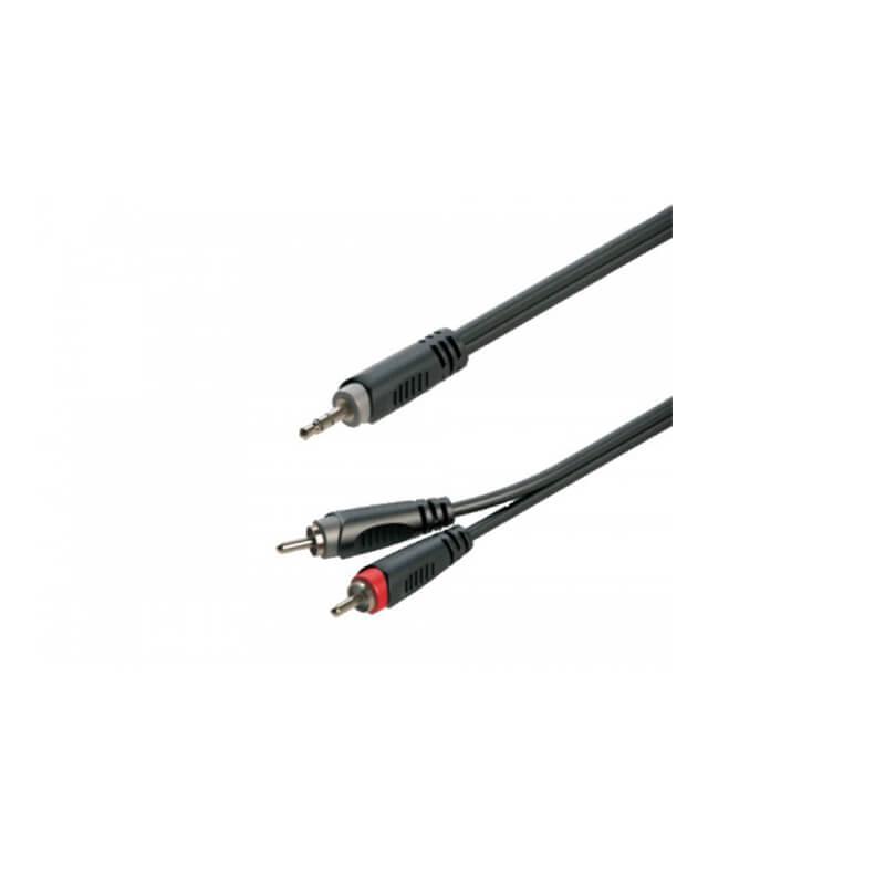 כבל RCA6.3X2-PL 3.5 אורך 3מ.