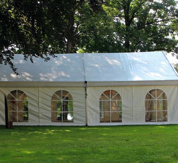 אוהל אבלים 4X6 - כולל כסאות, שולחנות ותאורה