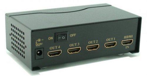 מפצל HDMI ל-4 HDMI