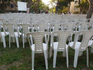 קצת על השכרת כיסאות לאירועים