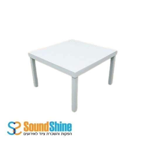 השכרת שולחן לבן 120X120