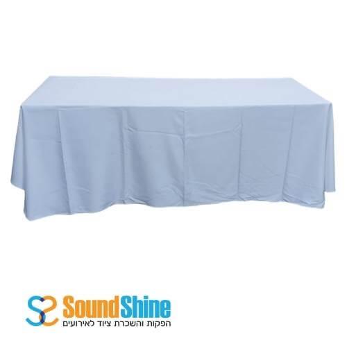 """השכרת שולחן מלבני 80X200 ס""""מ"""